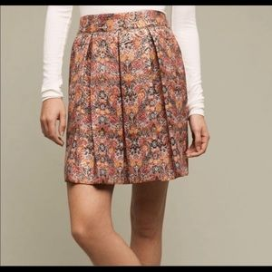 NWOT Anthropologie Floral Rosia Skirt by Maeve